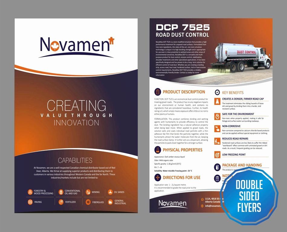 Double Sided Flyer Template Luxury Double Sided Flyers Designing & Printing solutions Bsu