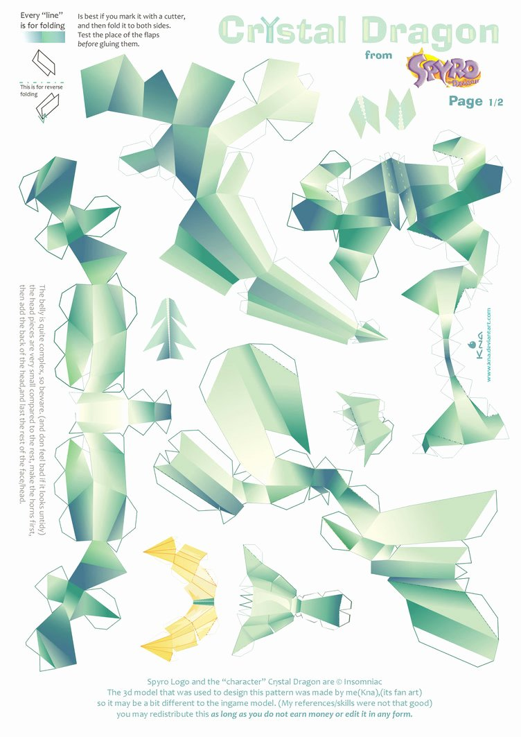Dragon Cut Out Template Awesome Paper Craft New 584 Papercraft Dragon Template
