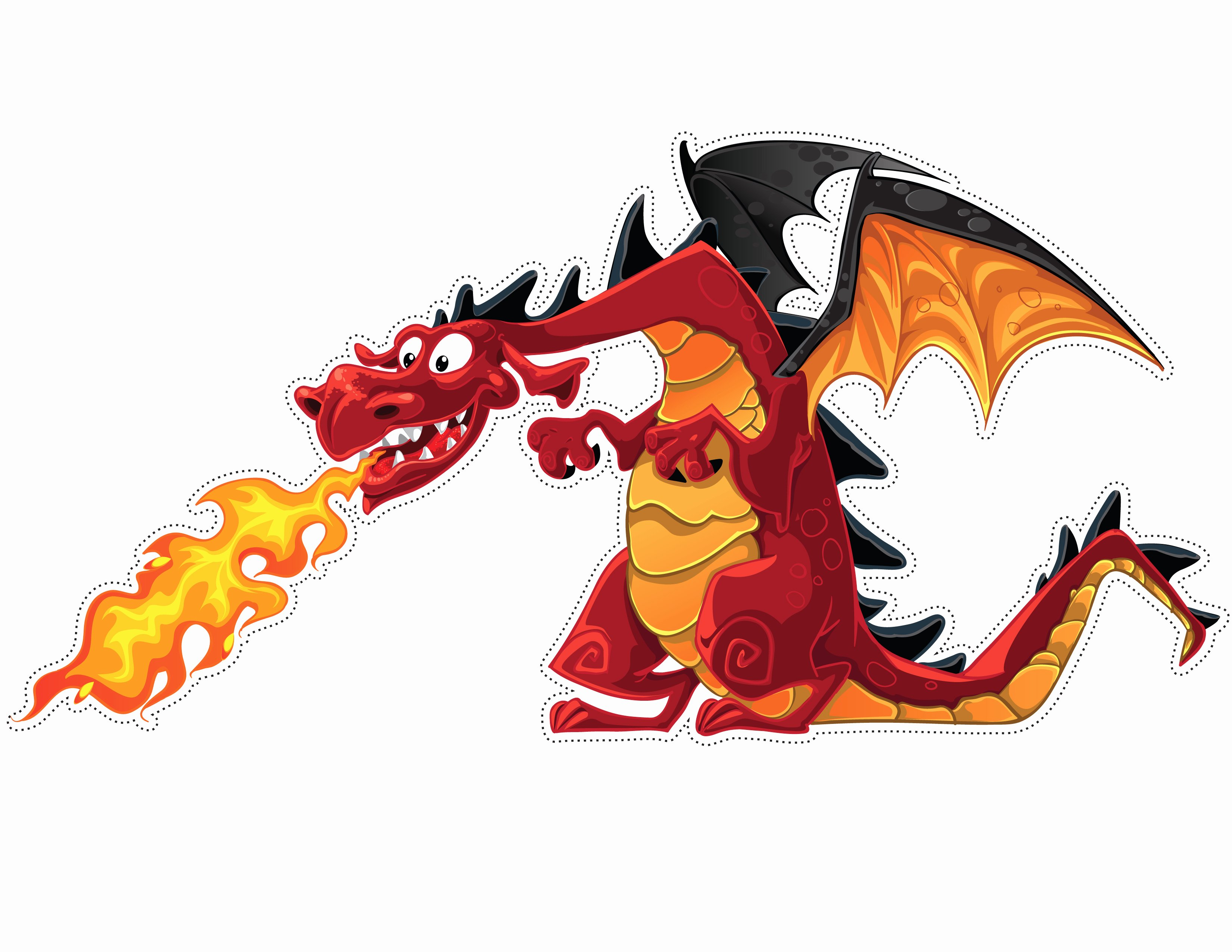 Dragon Cut Out Template Best Of Dragon Cut Out Line Dragon Paper Crafts for Kids sod