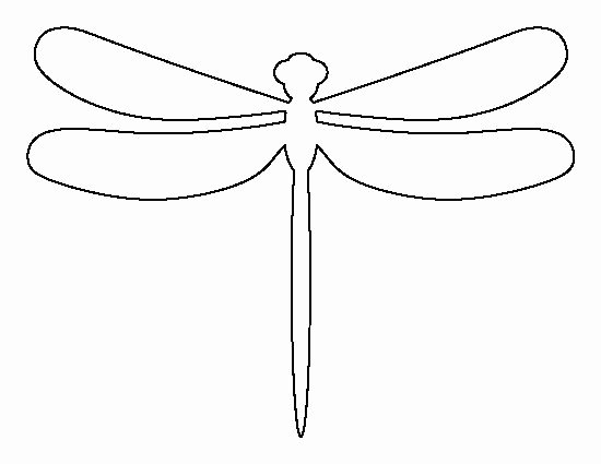 Dragon Cut Out Template Fresh Dragonfly Pattern Use the Printable Outline for Crafts
