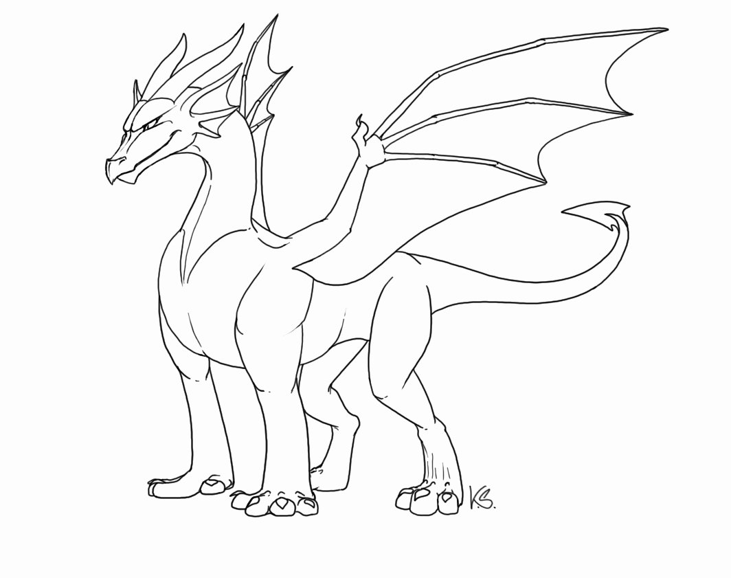 Dragon Cut Out Template Inspirational Free Dragon Outlines Ii by Suzidragonlady On Deviantart
