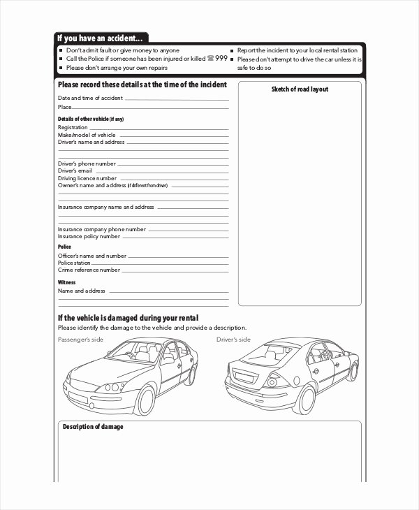 Driver Vehicle Inspection Report Template Beautiful Driver Vehicle Inspection Report Template then 13 Free