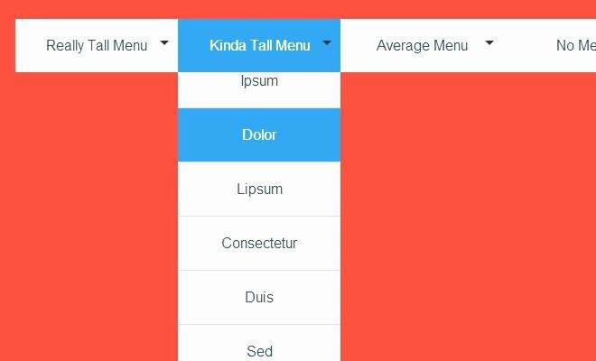Drop Down Menu Template Beautiful to Free Menu Templates Horizontal Css Navigation Bar In