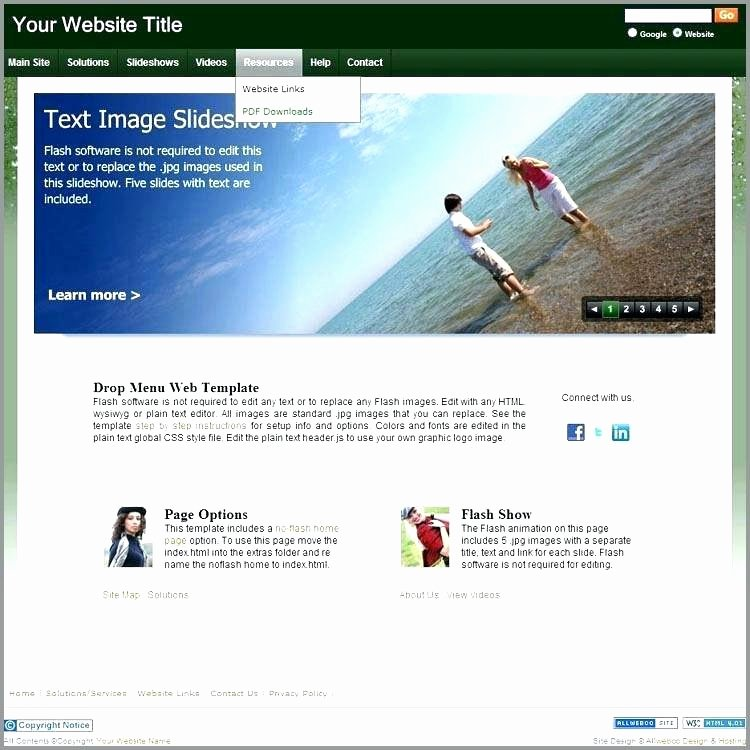 Drop Down Menu Template Lovely Website Template with Drop Down Menu Bootstrap