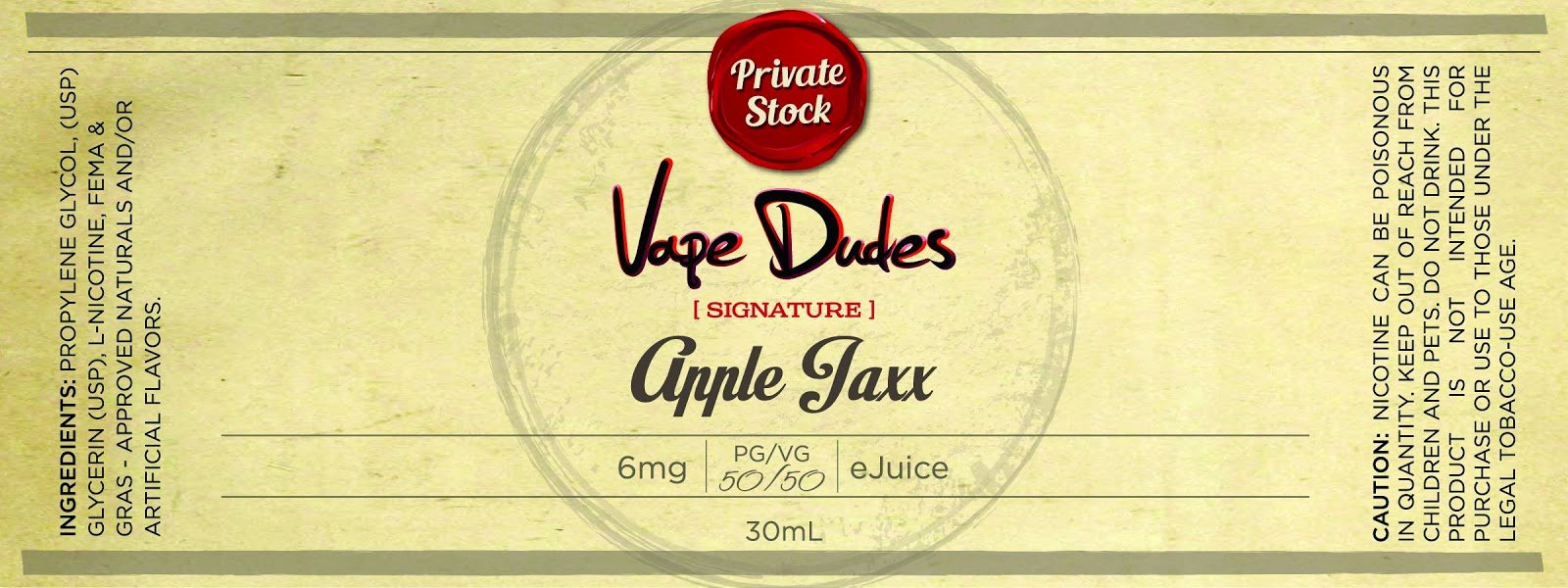 E Juice Label Template Unique E Juice Label Template