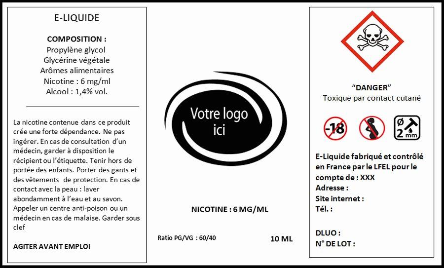 E Juice Label Template Unique Etiquetage D E Liquides Dans Le Respect Des normes Par Le Lfel