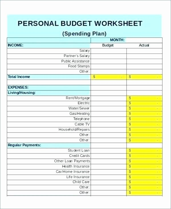 Easy Excel Budget Template Beautiful Basic Bud Ing Template Financial Bud