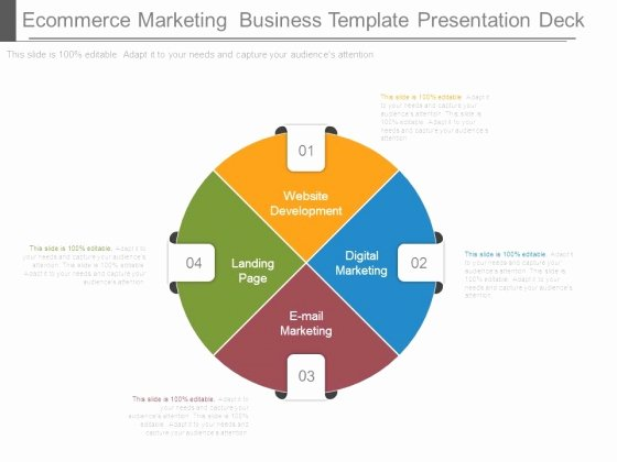 Ecommerce Marketing Plan Template Awesome Template Business Deck