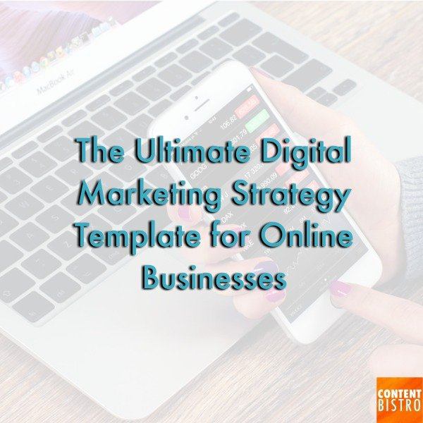 Ecommerce Marketing Plan Template Best Of the Incredibly Powerful Digital Marketing Strategy