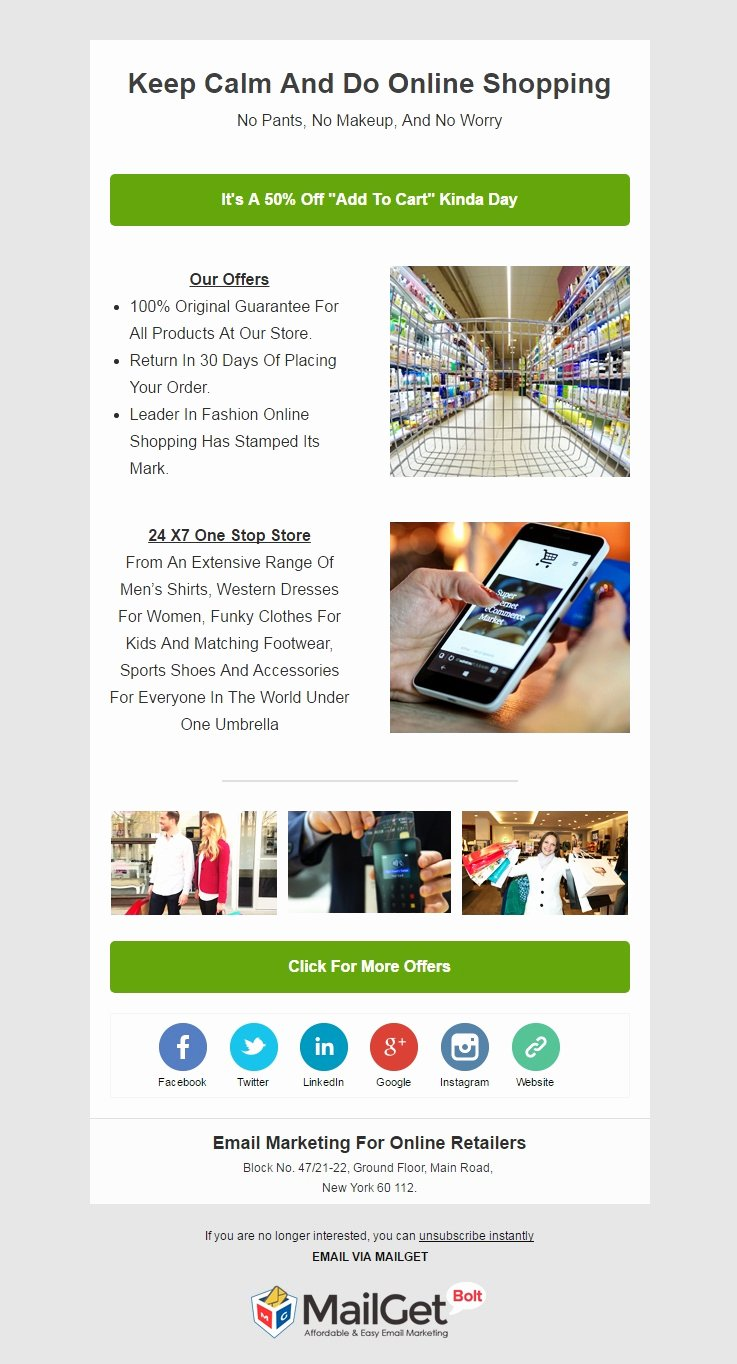 Ecommerce Marketing Plan Template Unique [email Marketing] 10 Best E Merce Email Templates