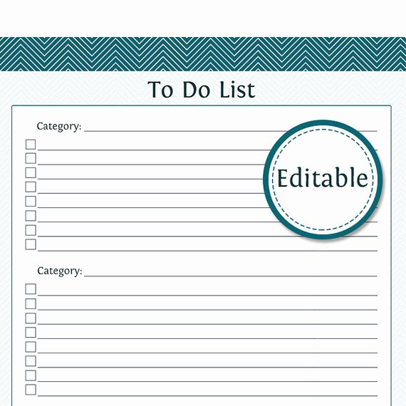 Editable Checklist Template Word Awesome Template Printable Gallery Category Page 48