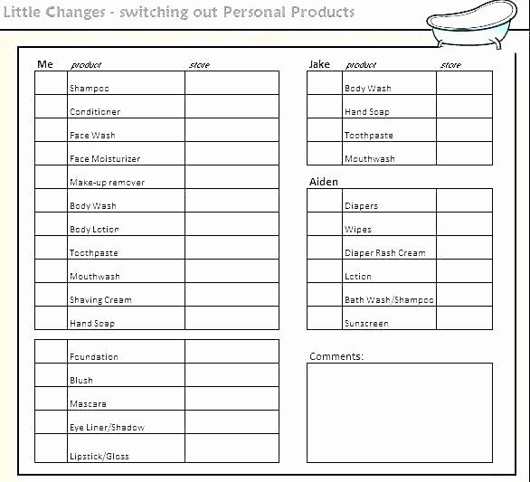 Editable Checklist Template Word Inspirational Editable Checklist Template Editable Checklist Template