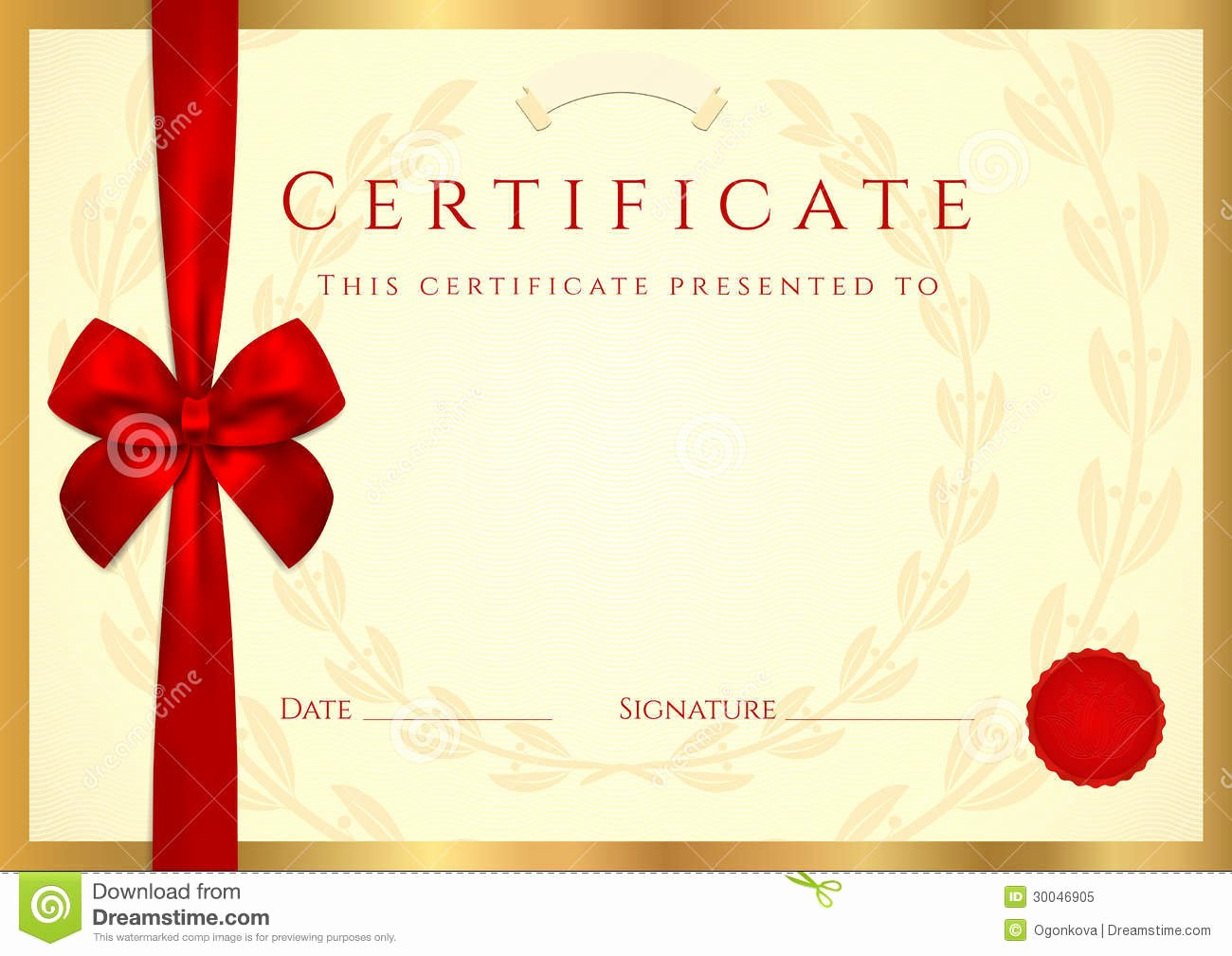 Editable Gift Certificate Template Awesome Congratulations Certificate Template
