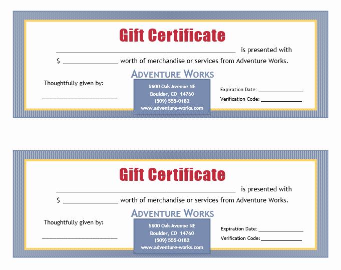 Editable Gift Certificate Template Beautiful New Editable Gift Certificate Templates