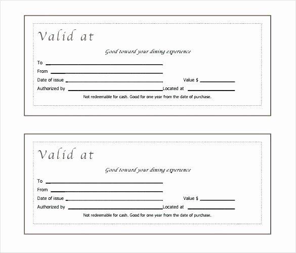 Editable Gift Certificate Template Elegant Blank Certificate Template Word – Harriscateringfo