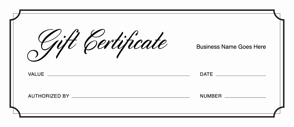Editable Gift Certificate Template Fresh Gift Certificate Templates Download Free Gift