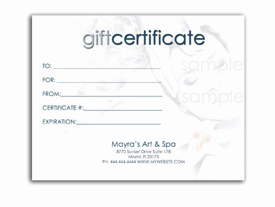 Editable Gift Certificate Template Inspirational 43 formal and Informal Editable Certificate Template
