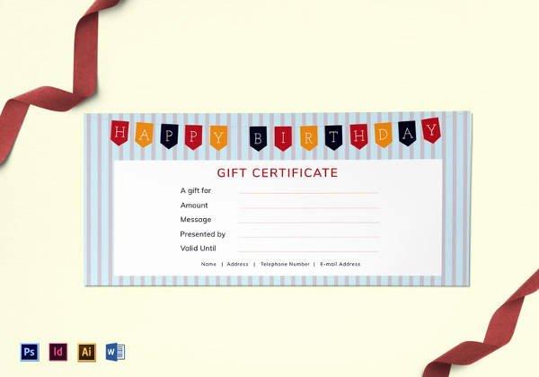 Editable Gift Certificate Template Lovely 30 Blank Gift Certificate Templates Doc Pdf
