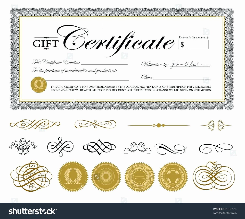 Editable Gift Certificate Template Lovely Template Editable Gift Certificate Template