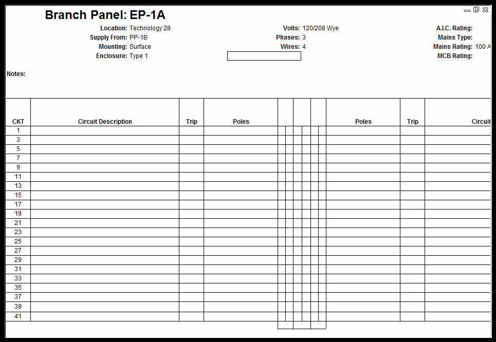 Electrical Panel Schedule Template Excel Elegant Electrical Panel Schedule Template Excel Change Request