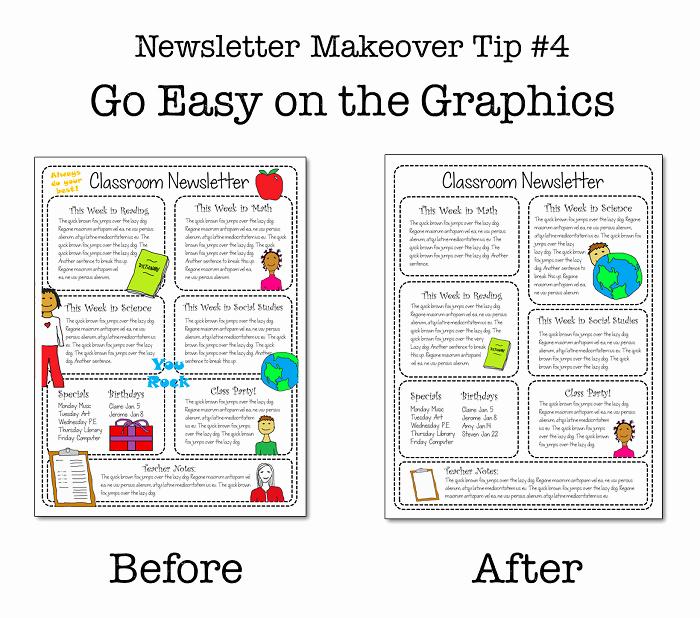Elementary Classroom Newsletter Template Awesome why No E Reads Your Classroom Newsletter