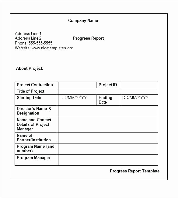 Elementary Progress Report Template Awesome 96 Weekly Progress Reports Elementary Weekly Progress