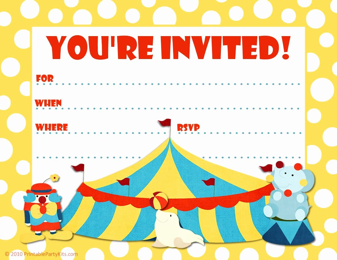 Email Party Invite Template Best Of Printable Birthday Party Invitations – Free Printable