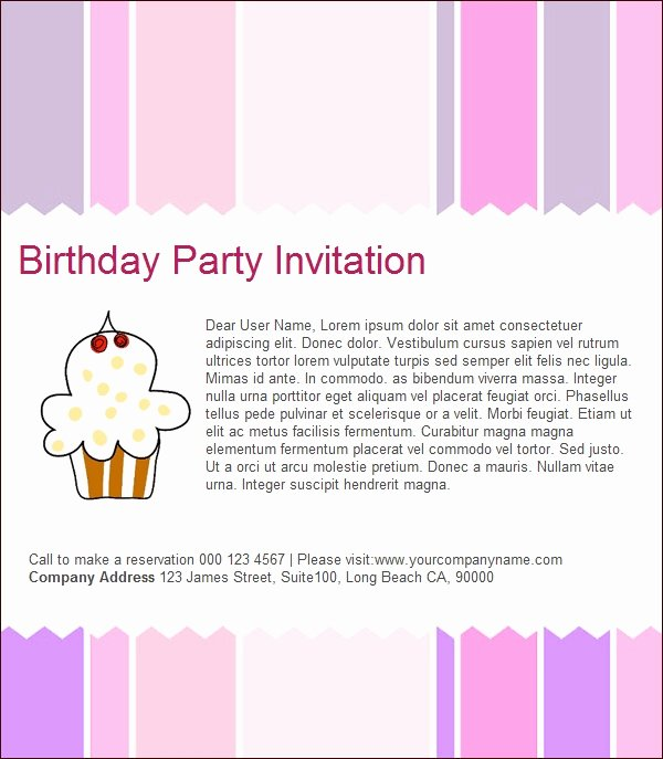Email Party Invite Template Elegant Birthday Invitation Email Template 23 Free Psd Eps