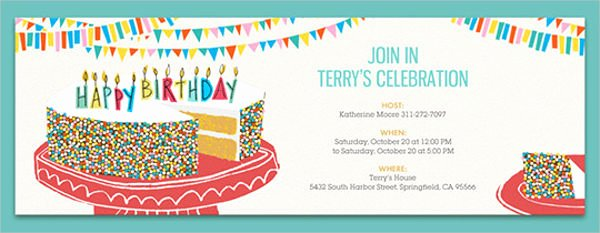 Email Party Invite Template Lovely Lunch Treat Invitation Mail