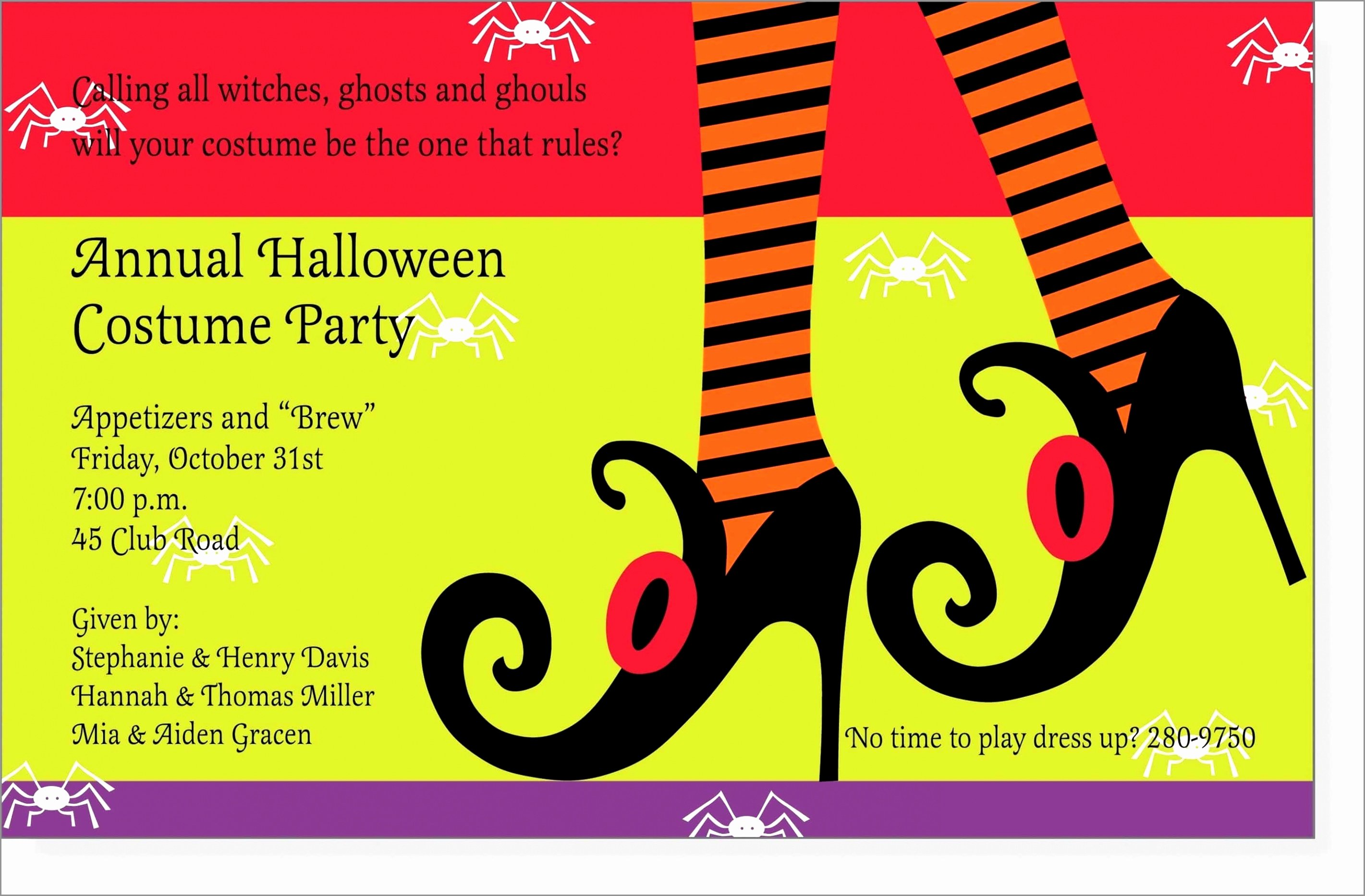 Email Party Invite Template Luxury Tips Easy to Create Halloween Party Invitation Wording