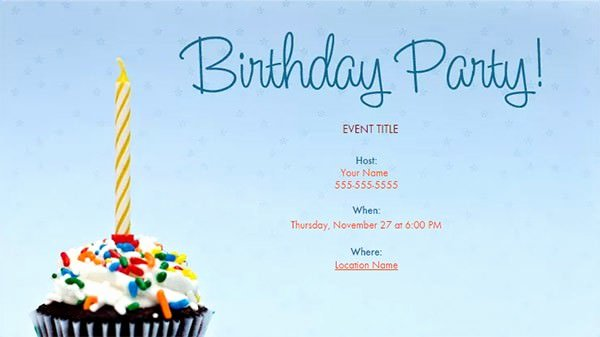 Email Party Invite Template Unique 27 Email Invitation Templates Psd Vector Eps Ai