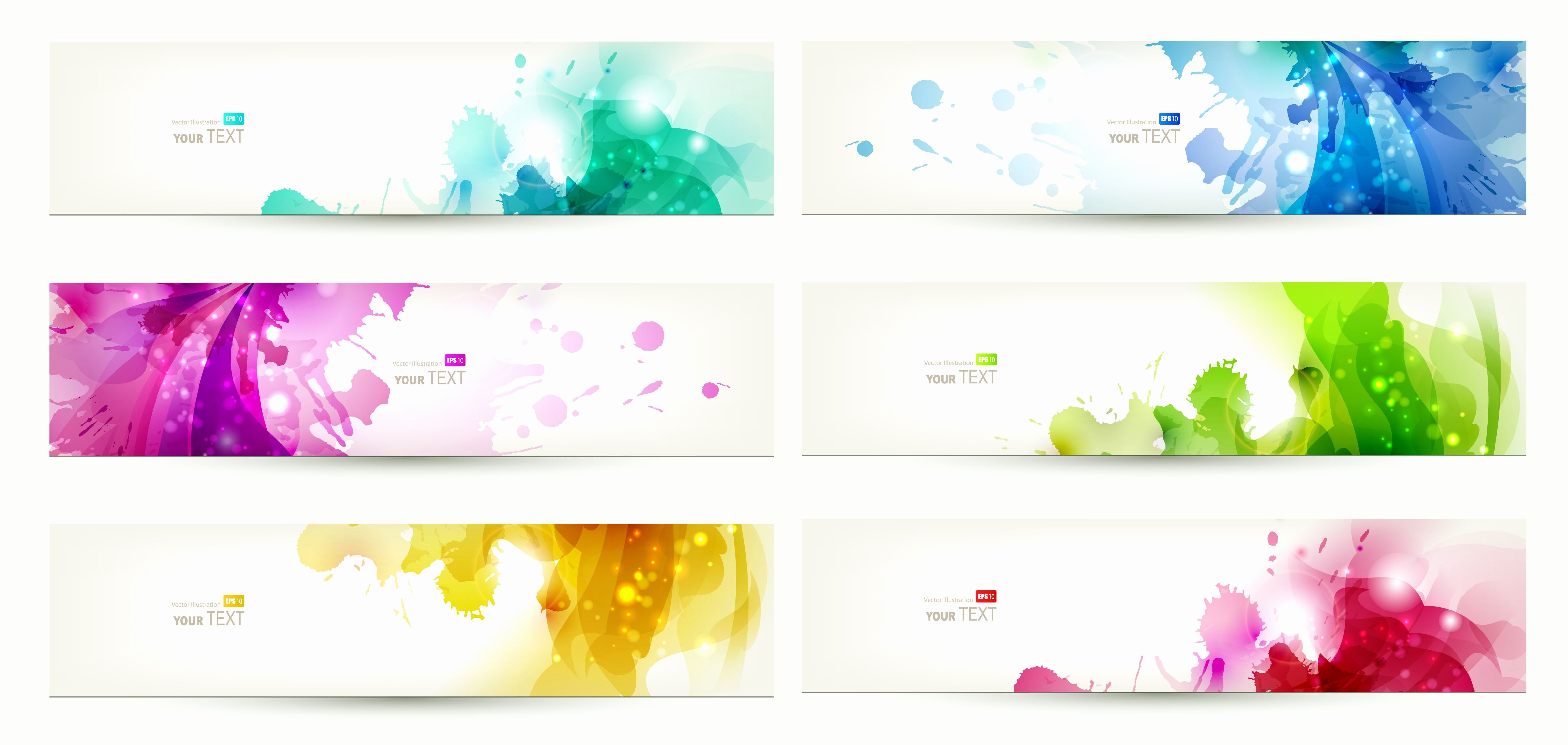Email Template Background Image Fresh Free Vector Banner Templates Banner Design