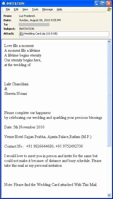 Email Wedding Invitation Template Elegant Wedding Invitation Mail format Yourweek 30b2a3eca25e