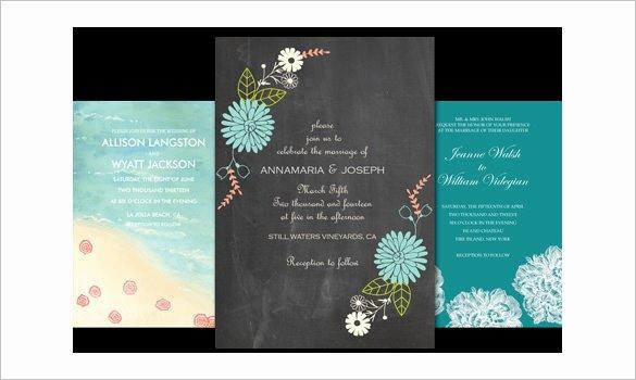 Email Wedding Invitation Template Elegant Wedding Invitation Template 71 Free Printable Word Pdf