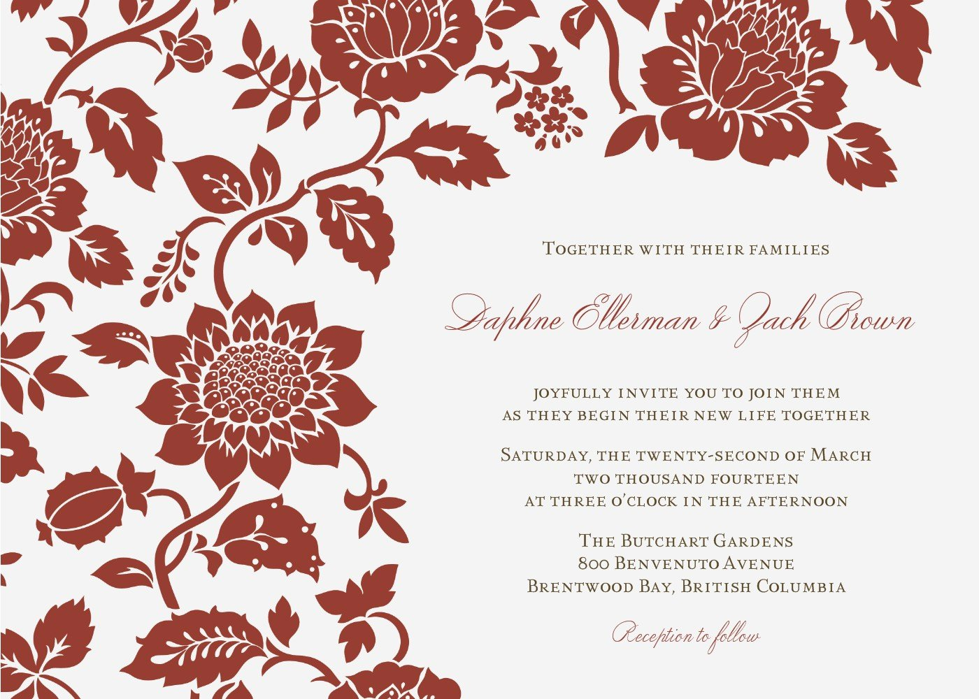 Email Wedding Invitation Template Elegant Wedding Invitation Wording Wedding Invitations Email Template