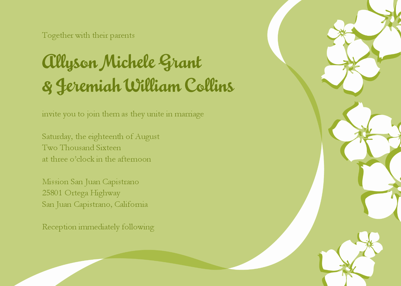 Email Wedding Invitation Template Luxury Email Wedding Invitations Templates