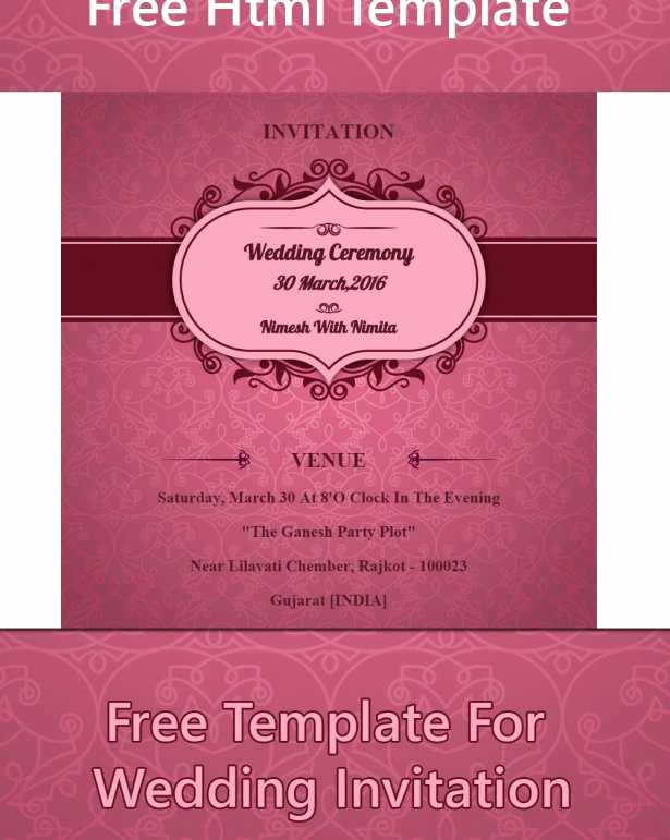Email Wedding Invitation Template Luxury Indian Wedding Invitation Templates Eletter Co