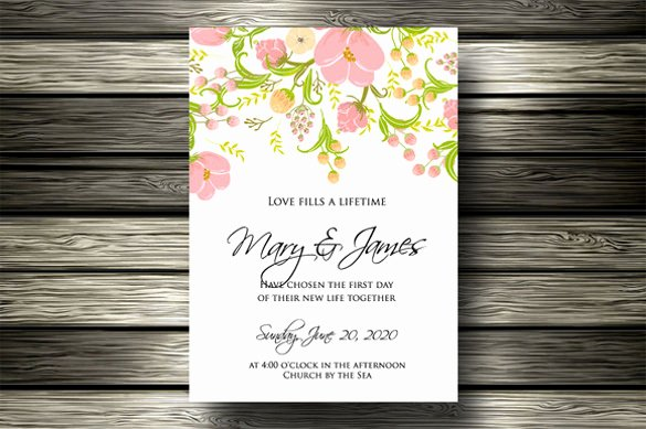 Email Wedding Invitation Template Unique 15 Email Invitation Template Free Sample Example