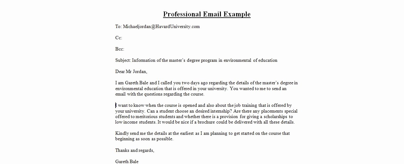 Email Writing Template Professional Beautiful Professional Email format Templates
