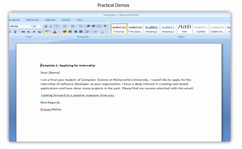 Email Writing Template Professional Inspirational Professional Email Writing