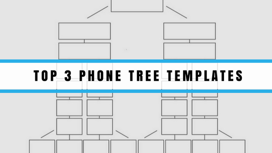 Emergency Phone Tree Template Awesome top 3 Phone Tree Templates 2017 Update