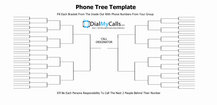 Emergency Phone Tree Template Lovely Template Phone Tree Template
