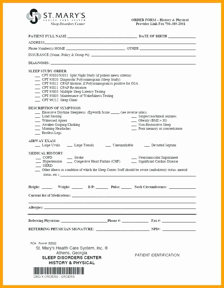 Emergency Room form Template New Hospital Discharge form Template Inspirational Resume