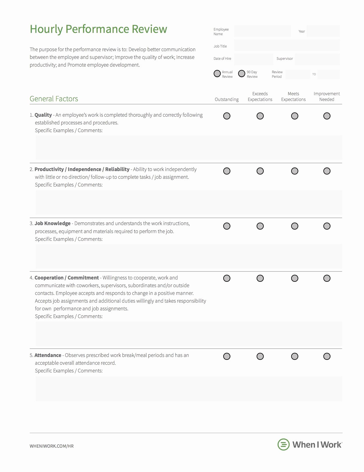 Employee Annual Review Template Inspirational 8 Best Practices for Building An Effective Employee