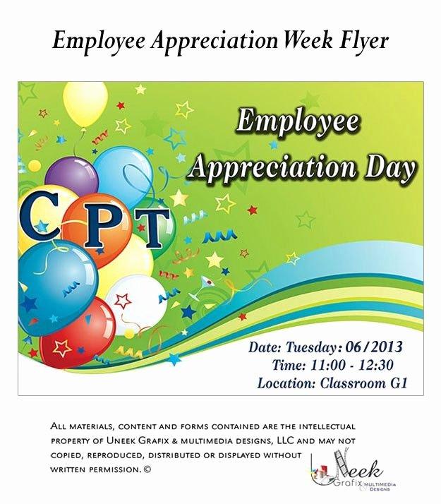 Employee Appreciation Day Flyer Template Beautiful Employee Appreciation Flyer Ideas Want to Kick Employee