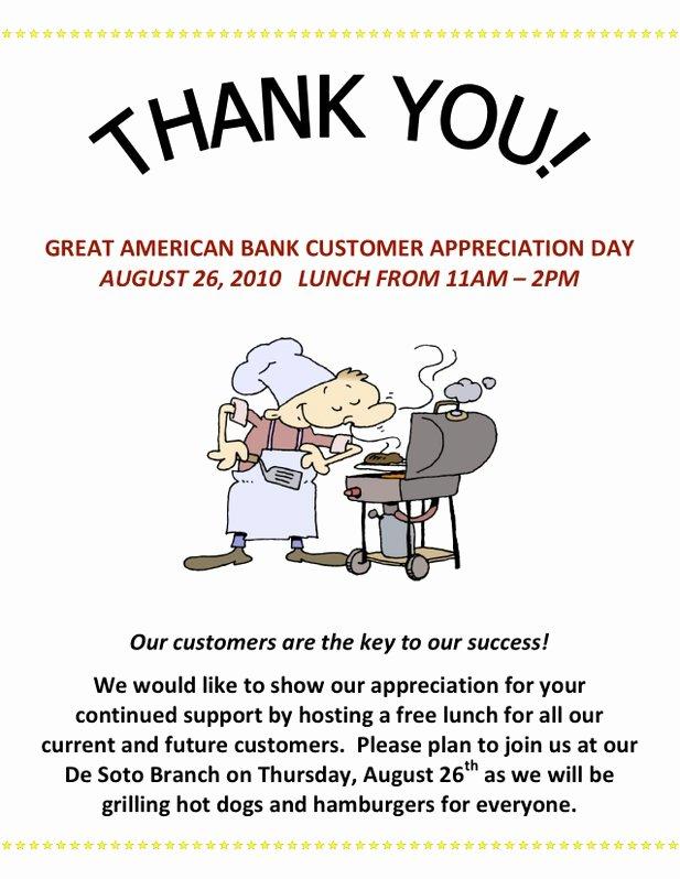Employee Appreciation Day Flyer Template Inspirational 7 Best Of Customer Appreciation Flyer Templates
