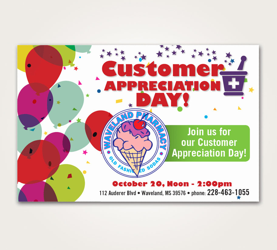 Employee Appreciation Day Flyer Template Inspirational Customer Appreciation Flyer Customer Appreciation Day