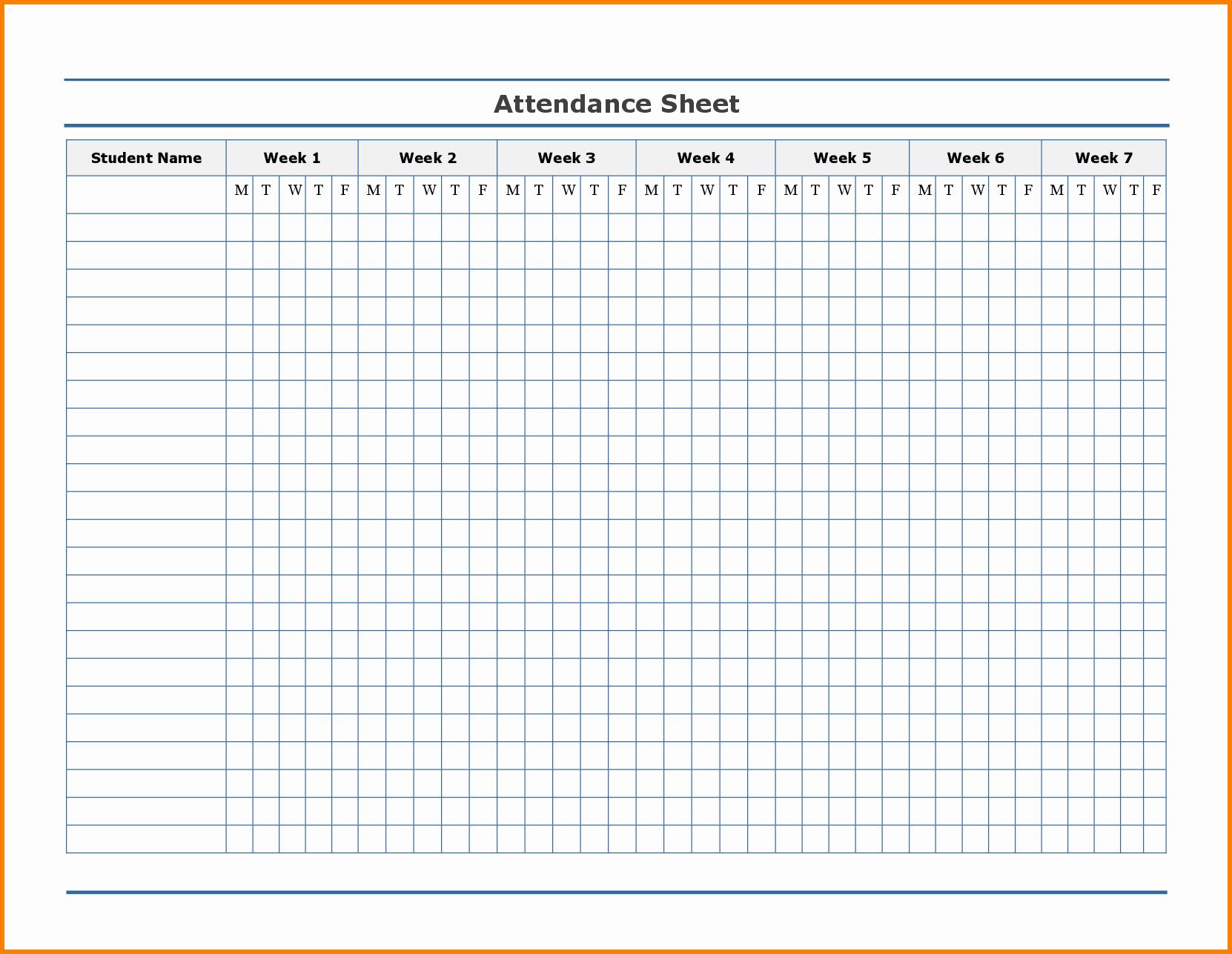 Employee attendance Record Template Elegant Free Employee attendance Calendar