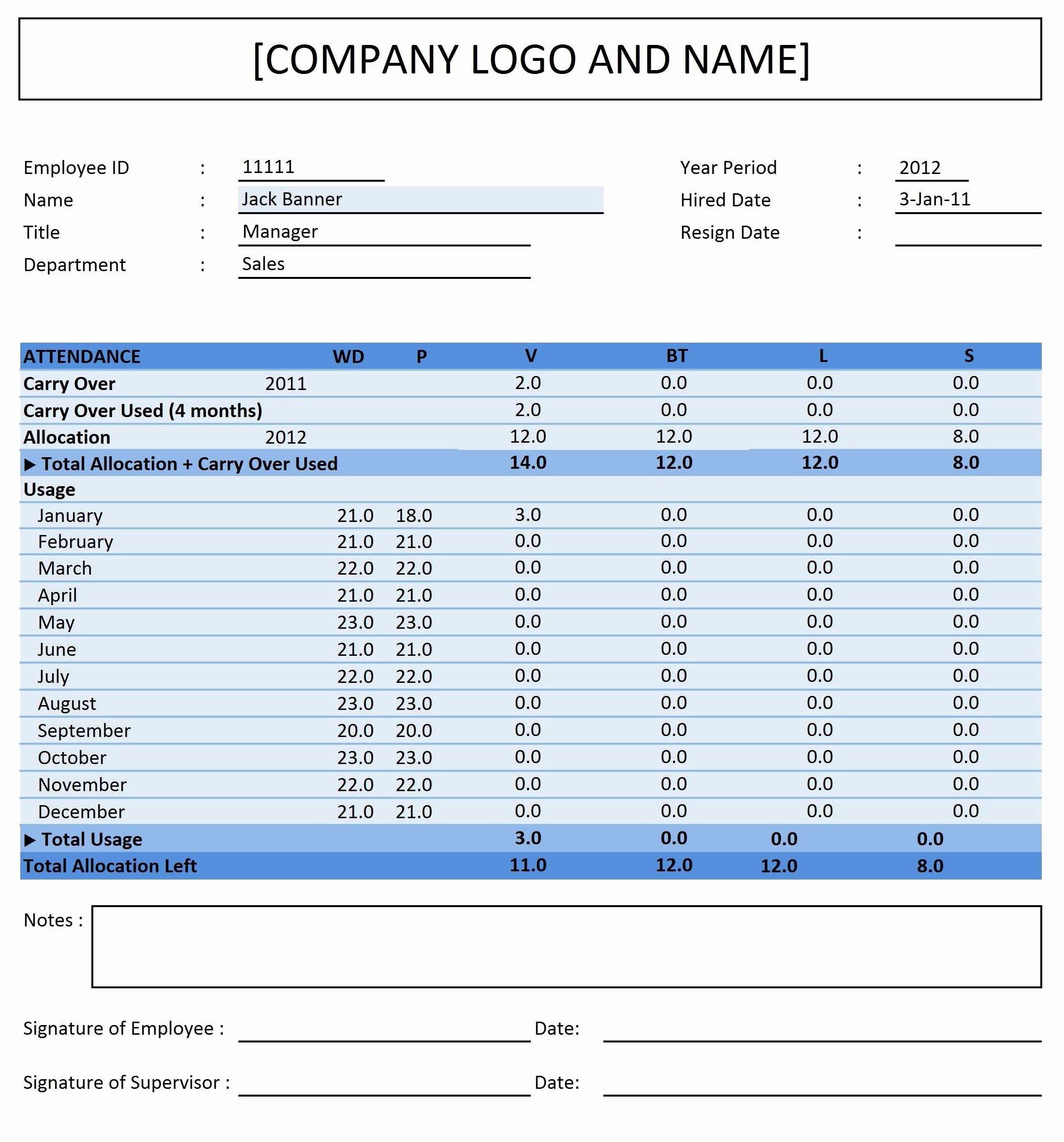 Employee attendance Tracker Template Luxury Employee attendance Tracker Excel Templates