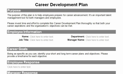 Employee Development Plan Template Elegant Human Resource forms for the Entire Employee Lifecycle